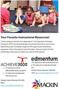 Service Coop Discounts on Instructional Resources
