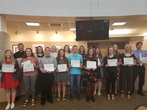 District Scholarship Winners